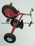 Jonge geitjes gaan de Met drie wielen van het Staal van China Kar