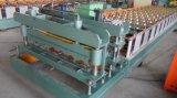 Roulis couvrant galvanisé automatique hydraulique de feuille formant la machine