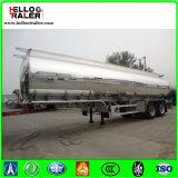 Asse 3 42000 litri di alluminio della lega dell'autocisterna del serbatoio di combustibile di rimorchio liquido semi