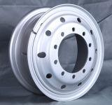 頑丈なトラックの鋼鉄車輪の縁8.5-24