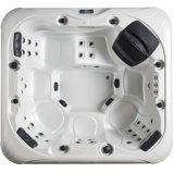 2016 het Nieuwe Zilver van de Stijl Acryl en het Hoge Eind Massage Hot Tub SPA van de Rok (m-3390)