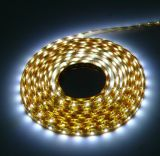 Tira flexible impermeable de CE&RoHS 3528 LED