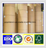 Carton Pâte de bois vierge Case pliage de papier carte / papier carton gris/carte d'Ivoire