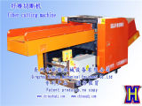 Machine de découpe en cuir bleu Concasseur à fibre optique