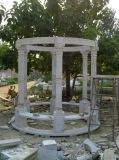 Белая скульптура &#160 Carrara каменная; Мраморный Gazebo (SY-006)