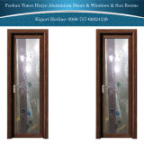 Das schwenkbar gelagerte Aluminium/die Flügelfenster-/Badezimmer-Tür mit doppelter Schicht milderten