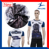 Healong 중국 판매를 위한 도매 의류 고품질 승화 남자의 t-셔츠