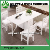 セット(W-1-2)を食事する固体マツ木家具