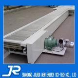 A corrente do transportador da placa com a guia lateral para a indústria alimentar