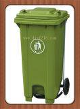 Pedal Manufacturer를 가진 중국 120L Quality Outdoor Plastic Garbage Bin