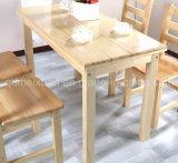 固体木のダイニングテーブルの居間の家具(M-X2423)