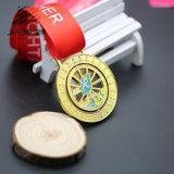 工場直接カスタム銀製の回転賞の連続したマラソンはフェスタカスタムメダルメーカーを遊ばす