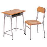 Escritorio modificado para requisitos particulares fabricante-suministrador y silla de madera de la escuela combinados