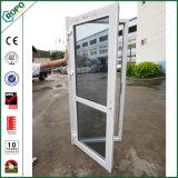 Австралийский стандарт в качестве 2047 Единое UPVC двойные стекла дверная рама перемещена двери