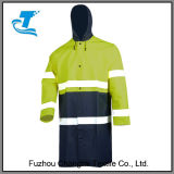 Jupe de pluie d'usure du travail des hommes imperméables à l'eau de garantie r3fléchissante de sûreté
