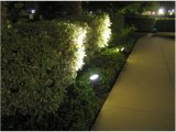 Downlight LED impermeable para jardín