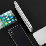 Claro Delgado Slim Fit Cubierta transparente flexible Premium Soft paragolpes de TPU para iPhone X 10
