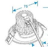 6 Вт Shap высокого просвета/ AC85-265початков в высокоэффективные LED затенения