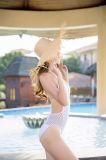 Lado Piscina Croché Suit, Malha Beachsuit, crochê Bikini, moda praia croché