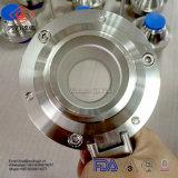 Valvole a sfera sanitarie della farfalla dell'acciaio inossidabile SS304/SS316L