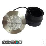 316 acero inoxidable IP67 27W/ Metro LED LED luz enterrada