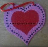 El papel colgando decoración con Glitter