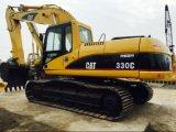 Machine initiale utilisée du Japon d'excavatrice du chat 330c