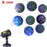 크리스마스를 위한 8 화원 레이저 광을 이동하는 베스트 셀러