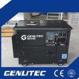 5kw 5kVA 5000W Stille Diesel Generator met Digitaal Comité