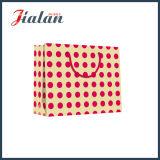 Horizontaler gedruckter Firmenzeichen-Entwurfs-Packpapier-Beutel für Kleider