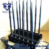 Dcs Rebolabile 3G 4G WiFi GPS RF 12-Band GSM Bugs Jammer (от от 130 до 500 MHz)
