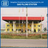 高品質CNGの給油所