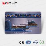 Hot Stamping Prata Natg 13.56MHz213 bilhete de metro de papel de RFID