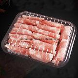 Wegwerfnahrungsmitteltellersegment des plastikPVC/PP/Pet/PS für Frucht-Fleisch-Tellersegment