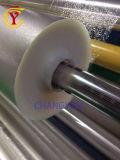 Pet en relieve la laminación y metalización de película de poliéster