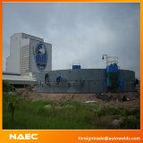 Double machine automatique latérale de soudure continue de périmètre de réservoir pour que le bas complète la construction