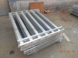 Ovale vieh-Panel-Yard-Panels des Rohr-115 mm*42 mm Hochleistungsfür Verkauf (XMR55)