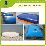 Constructeurs enduits en plastique de tissu de PVC de matériau de tissu de réservoir de stockage de pétrole de l'eau et