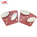 Outils en diamant pour plancher en béton de meulage et polissage