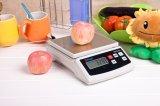 Balanza 6kg/1g de la cocina de la plataforma del acero inoxidable de Feh