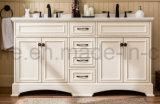 Pavimento Ivory moderno di colore che si leva in piedi il Governo di stanza da bagno di legno solido (ACS1-W66)
