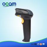 Scanner tenuto in mano collegato nero di rilevamento automatico del codice a barre del USB del laser