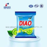 poudre de blanchisserie de bande de Diao de parfum du citron 400g