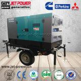 45kVA 35kw Perkins 1103A-33tg1 leise Dieselgeneratoren mit Rad-Preis