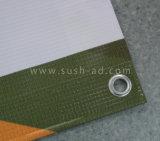 высокое печатание цифров знамени PVC винила напольный рекламировать разрешения 13oz