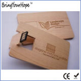 Hölzerner Visitenkarte USB (XH-USB-012W)