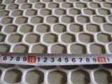 Acoplamiento neto plano plástico del PE hexagonal (fábrica)