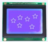 128X64 punktiert grafischer Zahn Mono-LCD-Baugruppen-Bildschirmanzeige mit Spi Schnittstelle
