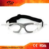 UV400 durables effacent des lunettes du football de volleyball de dispositif d'entraînement de basket-ball d'enfants de visibilité