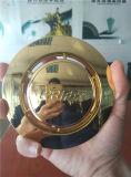 Лакировочная машина вакуума серебра золота пяток ботинок голубая